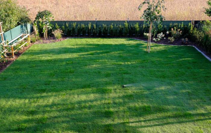 Gartenprojekt - Finish