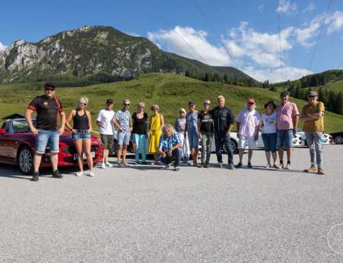 124 Spider Ausfahrt (Carbio-Ausfahrt) durchs Salzburgerland